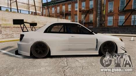 Subaru Impreza v2.0 for GTA 4 left view