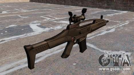 HK XM8 Assault Rifle for GTA 4 second screenshot