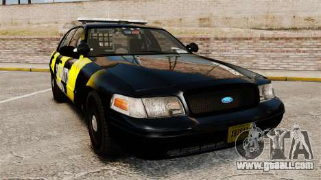 Ford Crown Victoria 2008 Security Patrol [ELS] for GTA 4