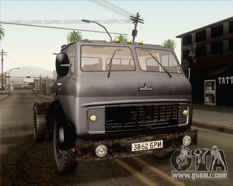 MAZ 5431 for GTA San Andreas