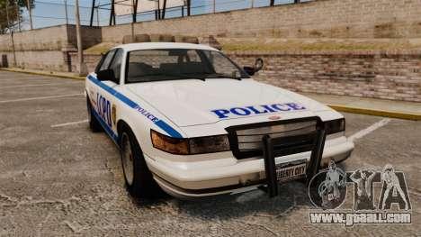Vapid Police Cruiser v2.0 for GTA 4