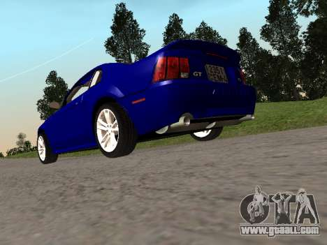 Ford Mustang GT 1999 for GTA San Andreas left view