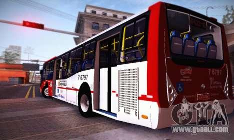 Caio Millennium II Volks 17-240 for GTA San Andreas back left view