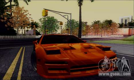 Acura NSX Drift for GTA San Andreas right view