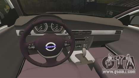 Volvo V70 Unmarked Police [ELS] for GTA 4 inner view