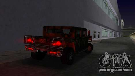 Russian Patriot texture for GTA Vice City left view