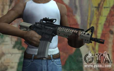 VLTOR SBR 5.56 ACOG Sight for GTA San Andreas third screenshot