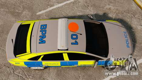 Ford Mondeo Metropolitan Police [ELS] for GTA 4 right view