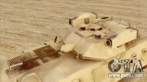 LAV-25 Desert Camo for GTA San Andreas right view