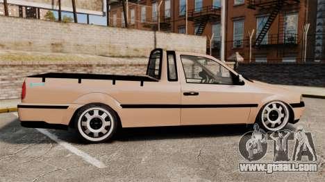 Volkswagen Saveiro G3 SuperSurf for GTA 4 left view