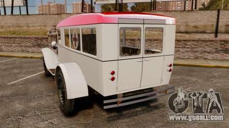 Gaz-AA ambulance for GTA 4 back left view