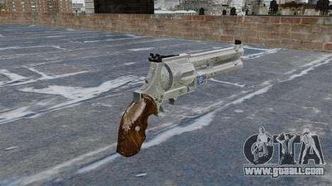 Revolver-Blue Rose- for GTA 4 second screenshot