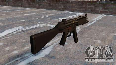 HK MP5 submachine gun for GTA 4 second screenshot