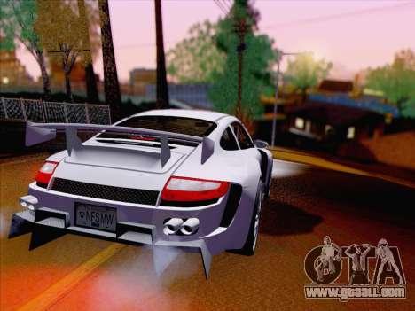 Porsche Carrera S for GTA San Andreas right view