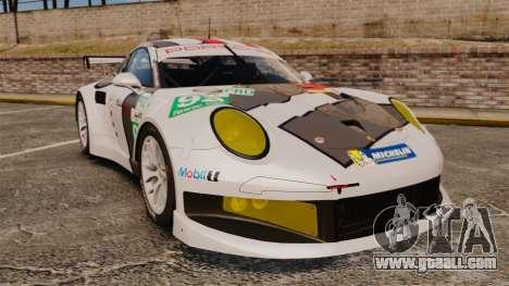 Porsche 911 (991) RSR for GTA 4