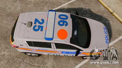 Kia Sportage Metropolitan Police [ELS] for GTA 4 right view