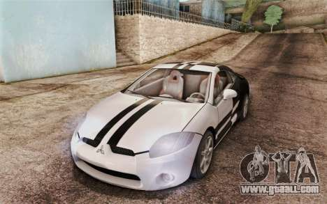 Mitsubishi Eclipse GT v2 for GTA San Andreas inner view