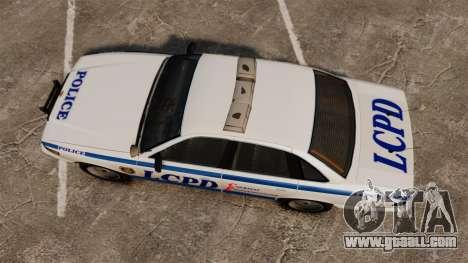 Vapid Police Cruiser v2.0 for GTA 4 right view
