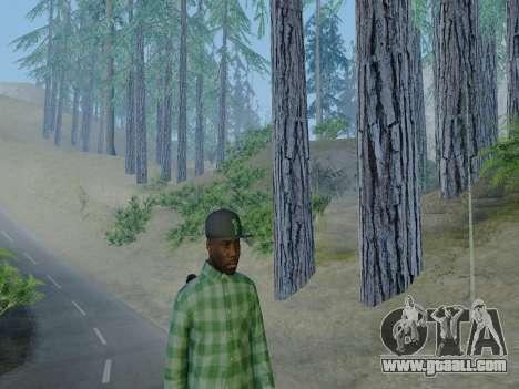 The Grove Street gang member of GTA 5 for GTA San Andreas fifth screenshot