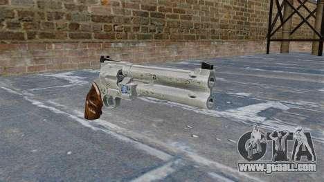 Revolver-Blue Rose- for GTA 4