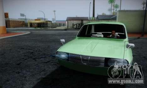 Dacia 1300 Retro Art for GTA San Andreas back view