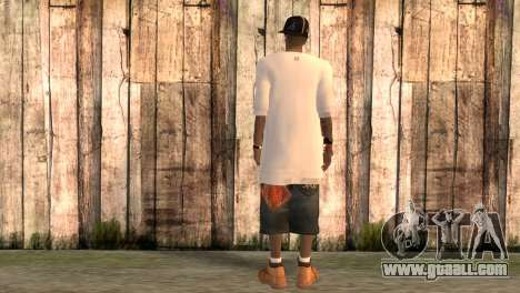 Rapper Rand for GTA San Andreas second screenshot