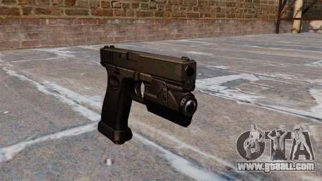 Self-loading pistol Glock 20 for GTA 4