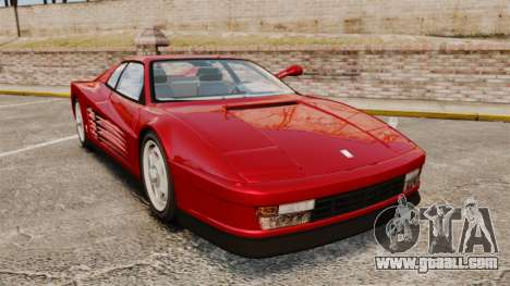 Ferrari Testarossa 1986 v1.1 for GTA 4