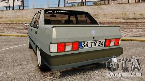 Tofas Dogan v2.0 for GTA 4 back left view