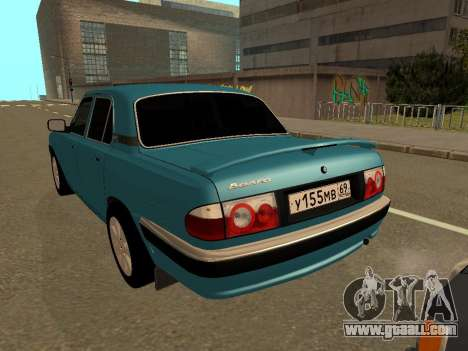 GAZ Volga 31105 for GTA San Andreas right view