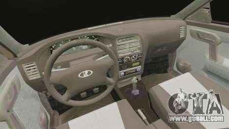 Vaz-2112 Hybrid for GTA 4 inner view