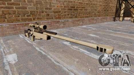 Sniper rifle McMillan TAC-50 for GTA 4