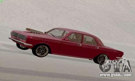 GAZ Volga 2410 Hot Road for GTA San Andreas left view