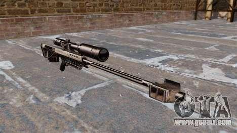 Barrett M95 sniper rifle for GTA 4