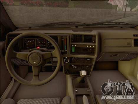 Ford Sierra Mk1 Coupe GHIA for GTA San Andreas right view