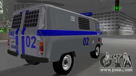 UAZ-3741 AUMONT for GTA Vice City left view