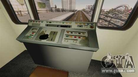 The head of Metro wagon 81-717 model for GTA 4 third screenshot