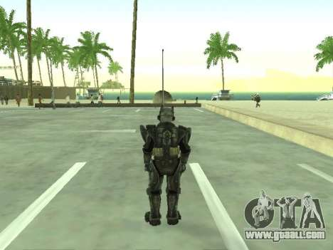 New skin from Fallout 3 for GTA San Andreas third screenshot