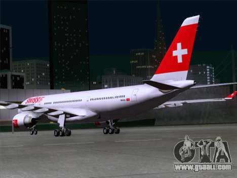 Airbus A330-223 Swiss International Airlines for GTA San Andreas right view