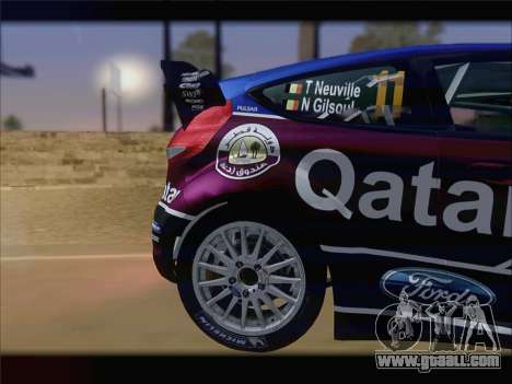Ford Fiesta RS WRC 2013 for GTA San Andreas right view
