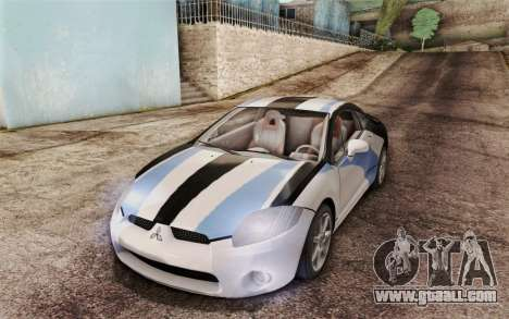 Mitsubishi Eclipse GT v2 for GTA San Andreas side view