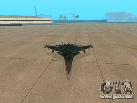 Su 33 for GTA San Andreas side view