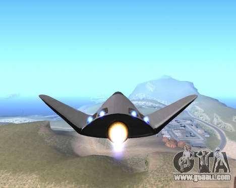 FARSCAPE modul for GTA San Andreas right view