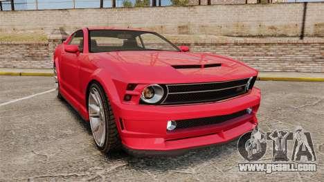 GTA V Vapid Dominator 450cui Supercharged for GTA 4