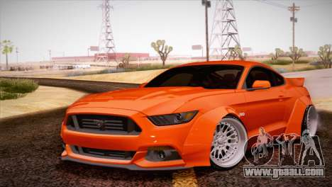 Ford Mustang Rocket Bunny 2015 for GTA San Andreas left view