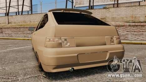 Vaz-2112 Hybrid for GTA 4 back left view