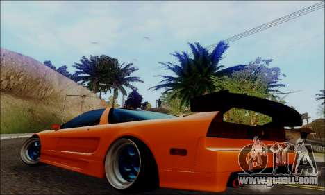 Acura NSX Drift for GTA San Andreas left view