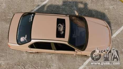 Honda Civic for GTA 4 right view