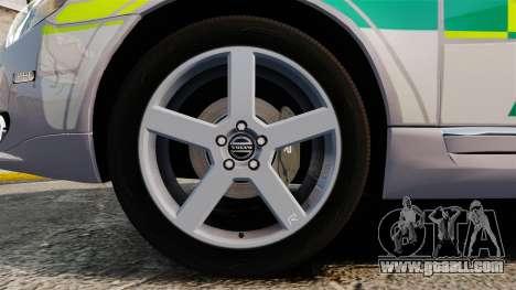 Volvo V70 Ambulance [ELS] for GTA 4 back view