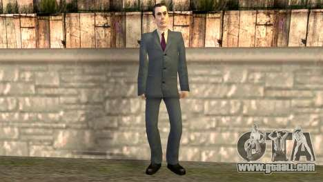 JI-man from half-life 2 for GTA San Andreas
